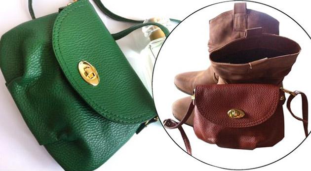 Štýlová dámska mini kabelka v 9-tich farbách