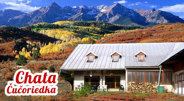 Chata Čučoriedka - relax v objatí končiarov Nízkych Tatier