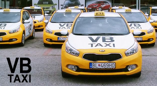 Jazdy štýlovými VB Taxi so skvelým bonusom. Odvezte sa kamkoľvek chcete bez potrebnej hotovosti.
