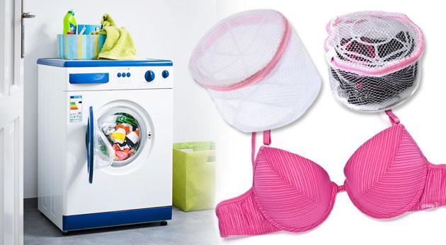 Ochranný košík na pranie podprseniek a jemného prádla v práčkach