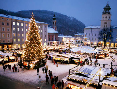Vianočný Salzburg a legendárny advent na jazere Wolfgangsee
