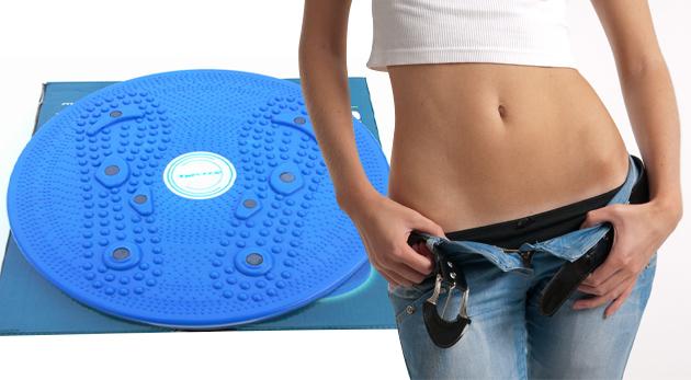 Rotačný disk Rotana s priemerom 28 cm na posilnenie brušných a bedrových svalov