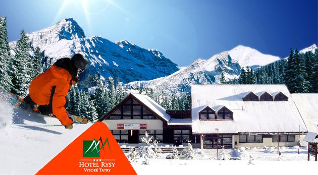 Zimný pobyt vo Vysokých Tatrách v Hoteli Rysy***.