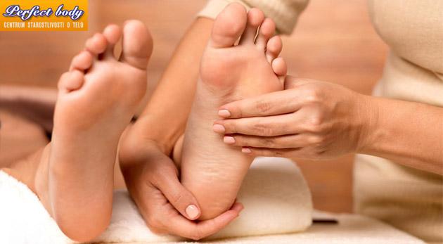 Polhodinová reflexná masáž chodidiel v salóne Perfect Body - zaslúžený relax pre vaše nohy