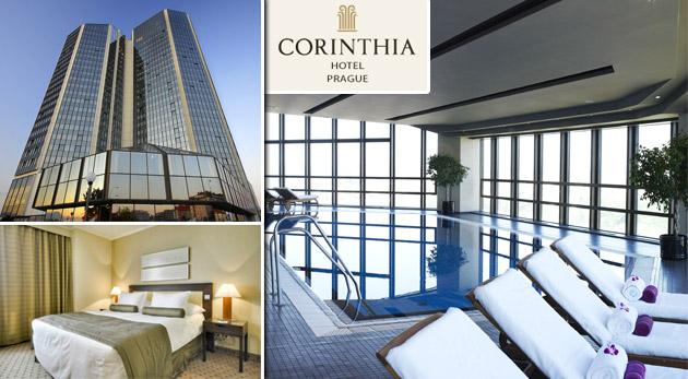 Fotka zľavy: Panoramatický výhľad na celú Prahu, relax vo wellness a naozajstný luxus v Corinthia Hotel Prague***** už od 169 € pre dvoch s bohatými raňajkami. Navyše vynikajúca lokalita v obľúbenej stovežatej.