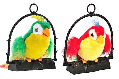 detsky papagaj hracka