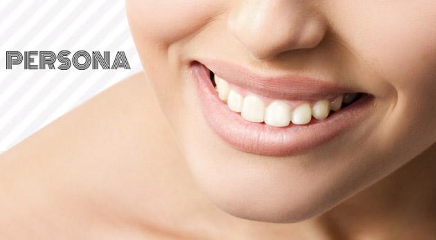 Biele a krásne zuby bez akejkoľvek bolesti v Salóne Persona
