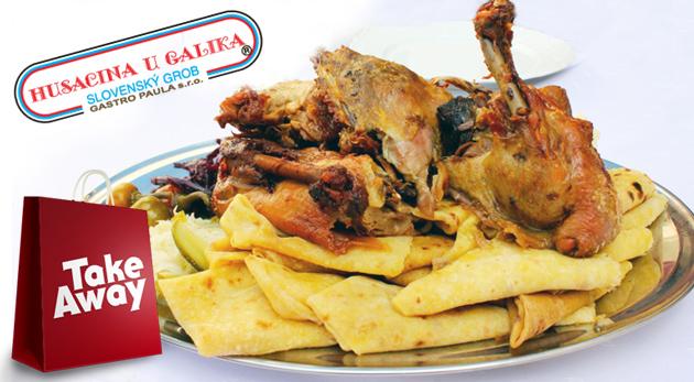 Fotka zľavy: Kačacie alebo husacie hody pre 5 osôb od Galika už od 47 €. Vychutnajte si skvelú hostinu u seba doma!