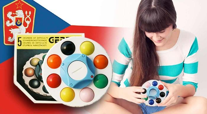 Fotka zľavy: Logická hračka pre deti aj dospelých Gerdig Ufo zažíva opäť svojich 5 minút slávy a vy ju môžete mať len za 2,99€. Zabavte sa a rozvíjajte vaše myslenie ako za starých čias! Akcia 3+1 zadarmo!