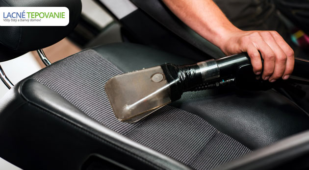 Kompletné čistenie a dezinfekcia auta v rámci jednej darčekovej poukážky