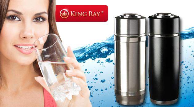 Nano pohár s alkalizujúcimi účinkami pre zdravú vodu