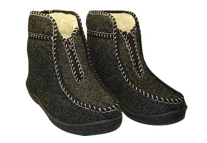 vesta kapce papuce z ovcej vlny