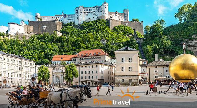 Dvojdňový výlet do rakúskeho Salzburgu - mesta Mozarta, s návštevou zámku Hellbrunn a možnosťou plavby po Wolfgangsee