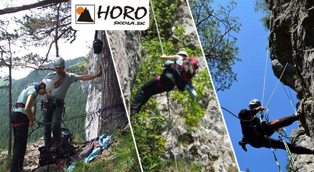 Kurz lezenia na skalkách pre začiatočníkov na Liptove