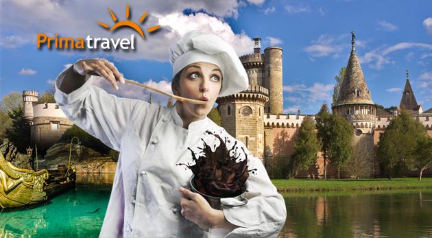 """Sladký deň v Rakúsku s návštevou čokoládovne Hauswirth a vodného zámku cisárovnej """"Sissi"""" v Laxenburgu"""