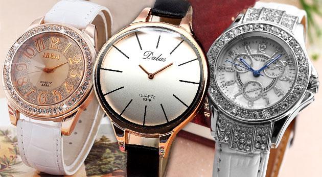 Fotka zľavy: Elegantné dámske hodinky pre dámy, čo majú štýl - už od 14,90 €. Na výber z viacerých krásnych druhov.