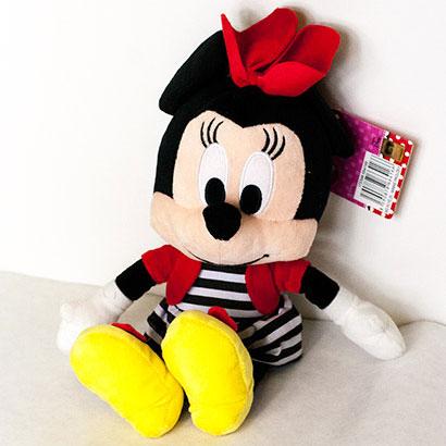 Disney hračka Minnie prúžky (dĺžka 25 cm)