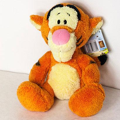 Disney hračka Tiger huňatý (dĺžka 25 cm)