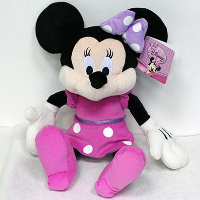 Disney hračka Minnie v tmavých šatách (dĺžka 60 cm)