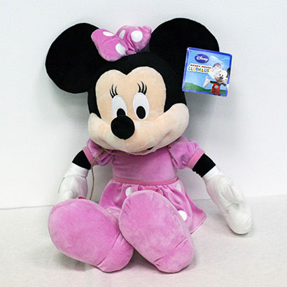 Disney hračka Minnie v svetlých šatách (dĺžka 65 cm)