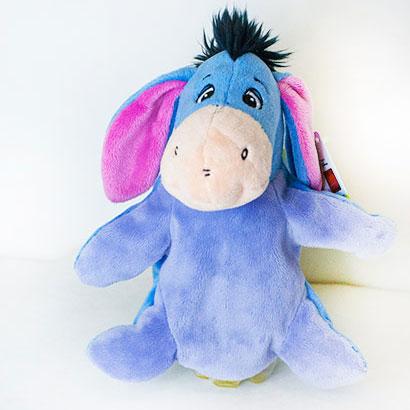 Disney hračka - Maňásek oslík (dĺžka 15 cm)