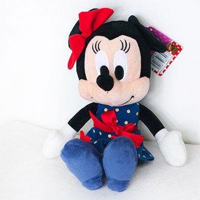 Disney hračka Minnie puntík (dĺžka 25 cm)