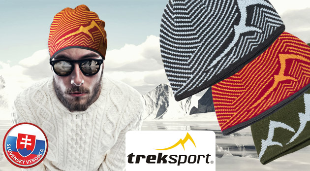 Unisex čiapka na zimu značky Treksport - na šport i bežné nosenie, na výber z 3 druhov.