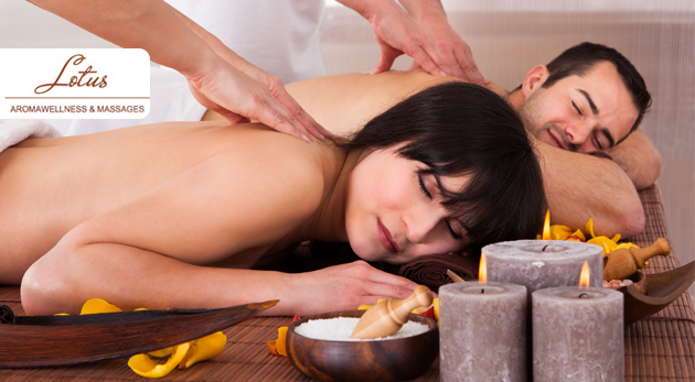Fotka zľavy: Dokonalý oddych v podobe aroma masáže s 24 karátovym zlatom, masáže nôh, hrejivej masáže s olejom alebo luxusnej masáže pre dvoch. Chvíle plné romantiky už od 7€ v Lotus aromawellnes & massages.