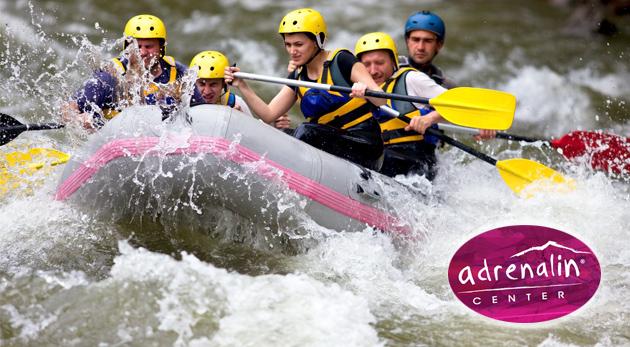 Doprajte si adrenalín v podobe raftingu na umelom vodnom kanáli v Liptovskom Mikuláši + bonus: videozáznam a relax na golfovom ihrisku!