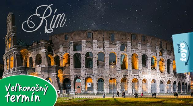 Spoznajte kráľovskú atmosféru večného mesta Rím