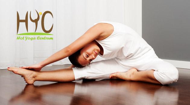 Fotka zľavy: Nájdite stratenú rovnováhu a urobte niečo pre svoje telo! Využite pestrú ponuku 5-týždňových až polročných kurzov jogy alebo hot jogy v Hot Yoga Centre už od 19,50 €. Vhodné aj pre začiatočníkov!