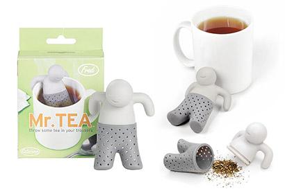 sitko na luhovanie čaju v tvare panáčika