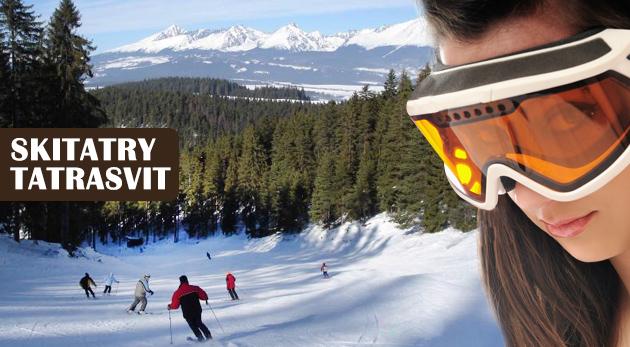 Fotka zľavy: Skvelý 3-hodinový alebo celodenný skipas pre deti, študentov aj dospelých už od 5,40€ v stredisku SKI TATRASVIT. Užite si lyžovačku v Novej Lopušnej doline pod Tatrami!