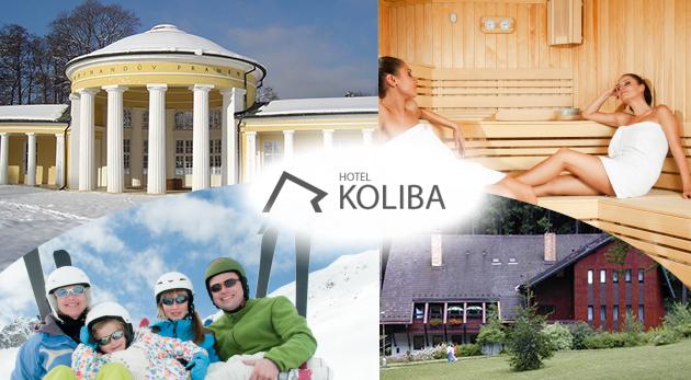 Fotka zľavy: Navštívte krásne Mariánske Lázne a ubytujte sa na 3 alebo 5 dní v Hoteli Koliba pri lyžiarskych svahoch už od 109 € pre 2 osoby. Polpenzia, procedúry, neobmedzené wellness a omnoho viac!