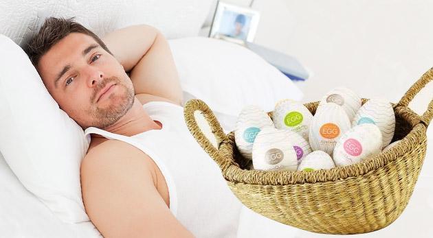 Fotka zľavy: Nový hit v ríši erotických pomôcok - vajíčko Tenga Egg pre pánov len za 6,50 € vrátane poštovného a balného. Vyberte si zo 6 druhov a doprajte si zážitok, z ktorého sa vám roztrasú kolená!