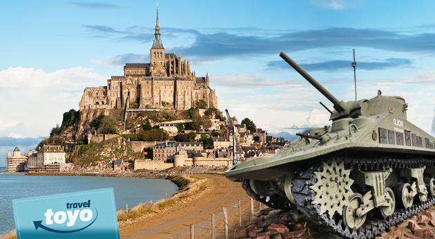 Šesť dní v Normandii a Bretónsku - na miestach, kde sa písala história