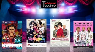 Zľava 60%: Vstupenka do divadla Teatro Wüstenrot len za 4,90€ na predstavenie podľa vlastného výberu. Pozrite si napríklad komédiu Šialené nožničky, Lordi, Mandarínková izba či muzikál Frida - Maľovať a milovať!