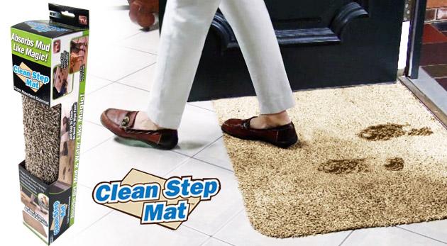 Vysoko absorpčná rohožka - praktický doplnok, ktorý udrží vašu domácnosť vždy čistú
