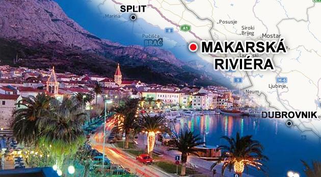 Skvelá dovolenka na Makarskej riviére v apartmánoch Vila Ruža*** na 8 alebo 11 dní v letovisku Podaca