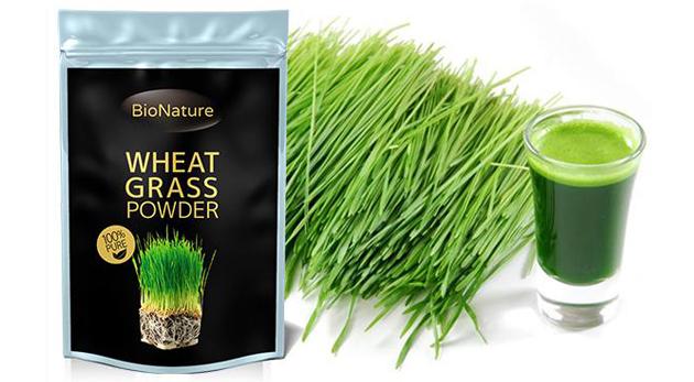 Mladá zelená pšenica v organickej kvalite s množstvom priaznivých účinkov pre vaše zdravie