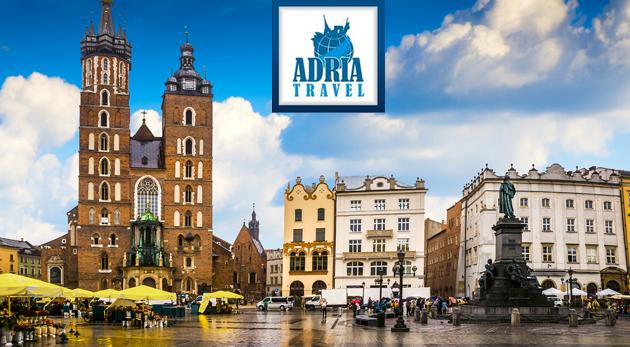 Nádherný Krakov a najväčšia európska soľná baňa Wieliczka - 2-dňový zájazd s CK Adria Travel