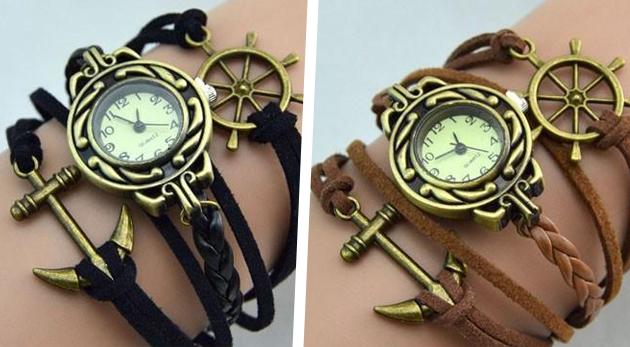 Výsledok vyhľadávania obrázkov pre dopyt vintage watch infinity brown love dreams