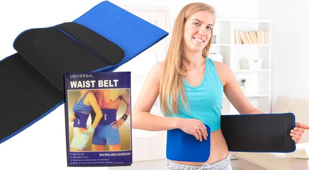 Neoprénový pás na chudnutie, ktorý pomáha aj pri bolestiach chrbta