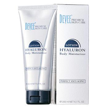 Hydratačné telové mlieko Devee Hyaluron Body Lotion - hydrokoncentrát (200 ml)