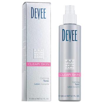 Devee Clear Skin upokojujúce čistice tonikum bez alkoholu 200ml