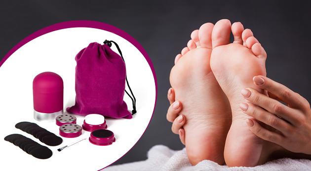 Pedikúra Pedi Pro Deluxe pre ošetrenie chodidiel v pohodlí domova