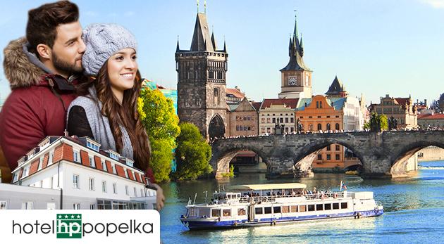 Poznaj Prahu - 3-dňový pobytový balíček v Hoteli Popelka s raňajkami, celodenným lístkom na MHD a plavbou loďou po Vltave