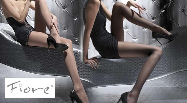 Luxusné hladké pančuchy značky Fiore pre zvodné nohy každej pravej dámy