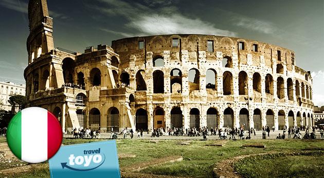 Famózne mesto miest - Rím. Odhaľte jeho tajomstvá počas 5 dní s CK Toyo Travel!