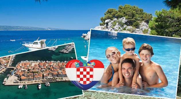 Dovolenka v krásnom Chorvátsku - Vodice alebo Tribunj s ubytovaním blízko mora